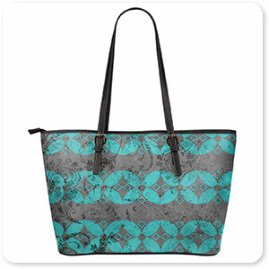 Patterns Collection Gypsy Collection Surface Pattern v1.017 - Large Leather Tote Bag - EXPRESS DELIVERY!