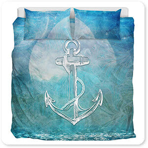 Sailor Away Anchor - Duvet Bedding Set