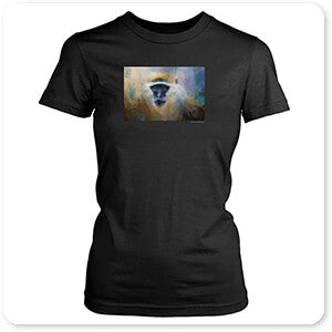 Wild Animals Collection African Grivet Monkey - T-Shirt