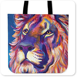 Wild Animals Collection Lion - Cecil - Canvas Tote Bag