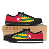 Togo National Flag - High & Low Top Canvas Shoes