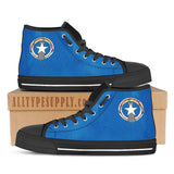 Northern Mariana Islands Flag - High & Low Top Canvas Shoes