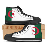 Algeria National Flag - High & Low Top Canvas Shoes