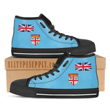 Fiji National Flag - High & Low Top Canvas Shoes