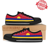Palmyra Atoll Flag - High & Low Top Canvas Shoes - EXPRESS DELIVERY!