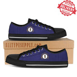 Kentucky State Flag - High & Low Top Canvas Shoes - EXPRESS DELIVERY!