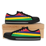 Mauritius National Flag - High & Low Top Canvas Shoes