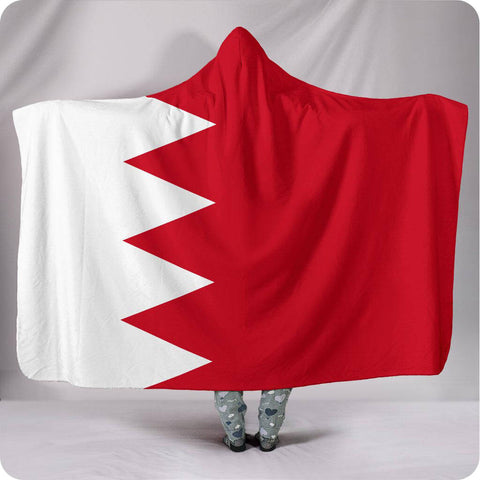 Bahrain National Flag - Hooded Blanket