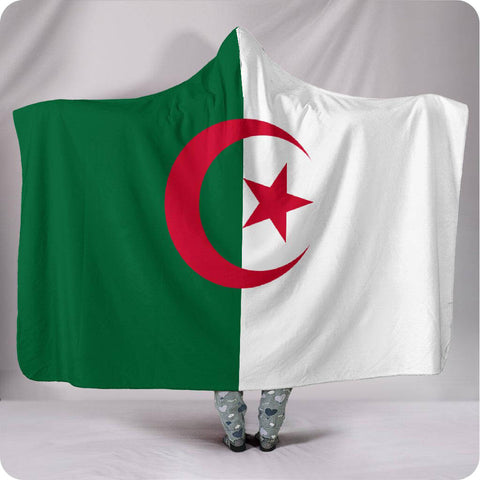 Algeria National Flag - Hooded Blanket