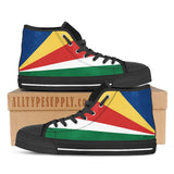Seychelles National Flag - High & Low Top Canvas Shoes