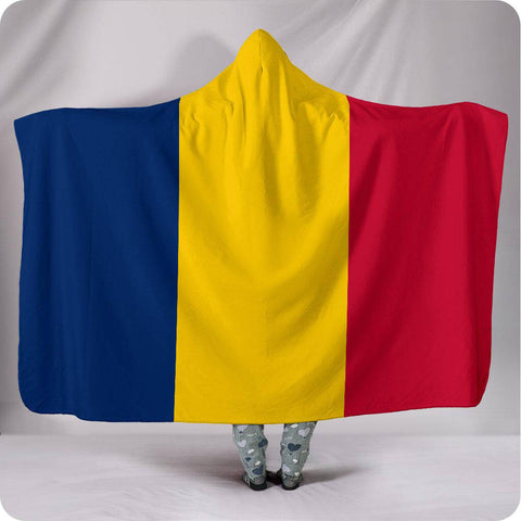 Chad National Flag - Hooded Blanket