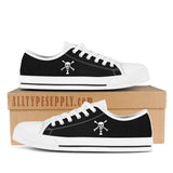 Emanuel Wynn Pirate Flag - High & Low Top Canvas Shoes