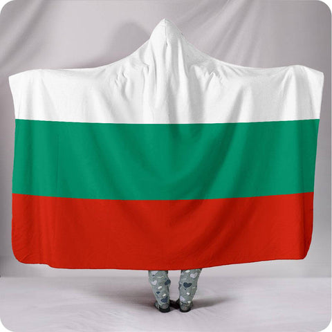 Bulgaria National Flag - Hooded Blanket