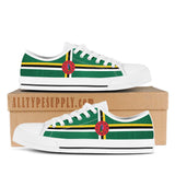 Dominica National Flag - High & Low Top Canvas Shoes