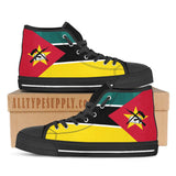 Mozambique National Flag - High & Low Top Canvas Shoes