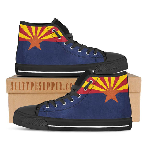 Arizona State Flag - High & Low Top Canvas Shoes