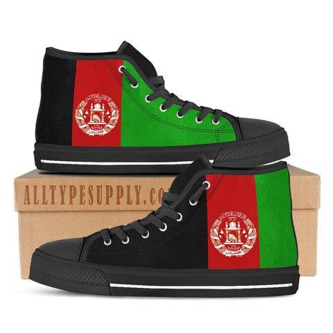 Afghanistan National Flag - High & Low Top Canvas Shoes