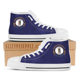 Kentucky State Flag - High & Low Top Canvas Shoes