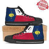 Wake Island Flag - High & Low Top Canvas Shoes - EXPRESS DELIVERY!