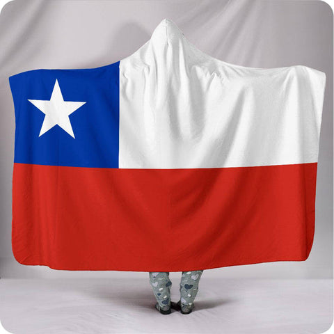 Chile National Flag - Hooded Blanket
