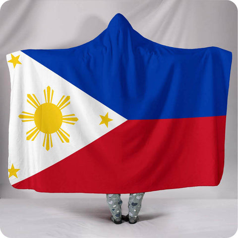 Philippines National Flag - Hooded Blanket
