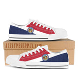 Missouri State Flag - High & Low Top Canvas Shoes