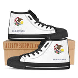 Illinois State Flag - High & Low Top Canvas Shoes