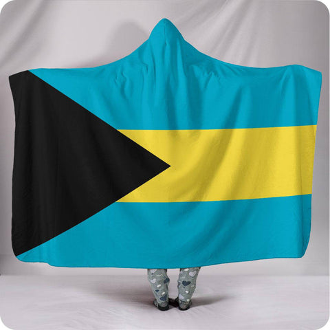 Bahamas National Flag - Hooded Blanket