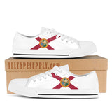 Florida State Flag - High & Low Top Canvas Shoes