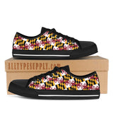 Maryland State Flag - High & Low Top Canvas Shoes