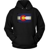 Colorado State Flag - Black Hoodie