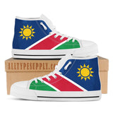 Namibia National Flag - High & Low Top Canvas Shoes
