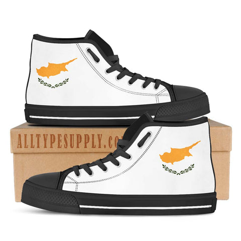 Cyprus National Flag - High & Low Top Canvas Shoes