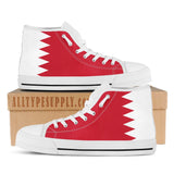 Bahrain National Flag - High & Low Top Canvas Shoes