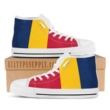Chad National Flag - High & Low Top Canvas Shoes