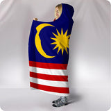 Malaysia National Flag - Hooded Blanket