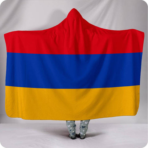 Armenia National Flag - Hooded Blanket