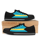Bahamas National Flag - High & Low Top Canvas Shoes
