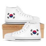 South Korea National Flag - High & Low Top Canvas Shoes