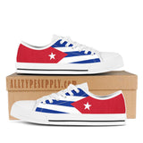 Cuba National Flag - High & Low Top Canvas Shoes