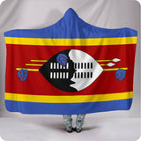 Swaziland National Flag - Hooded Blanket