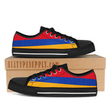 Armenia National Flag - High & Low Top Canvas Shoes