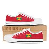Grenada National Flag - High & Low Top Canvas Shoes