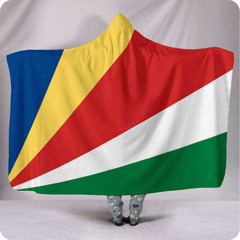 Seychelles National Flag - Hooded Blanket
