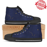 Alaska State Flag - High & Low Top Canvas Shoes - EXPRESS DELIVERY!