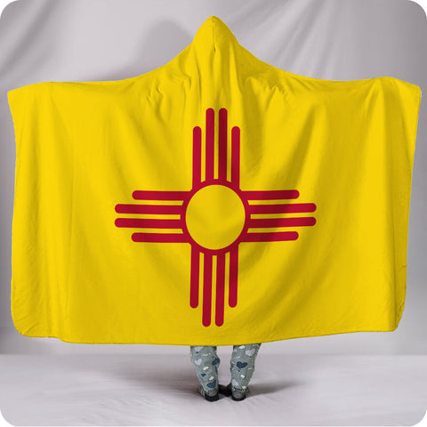 New Mexico State Flag - Hooded Blanket