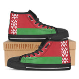 Belarus National Flag - High & Low Top Canvas Shoes