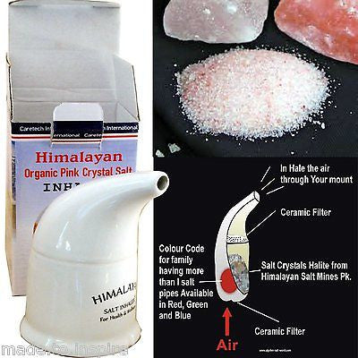 Natural Himalayan Salt Pipe Inhaler - Klass Home