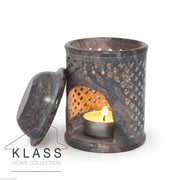 Jali Soapstone Moroccan Oil Burner - Klass Home