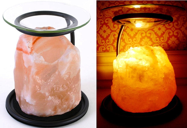 Iron and Himalayan Salt Oil Burner - Klass Home